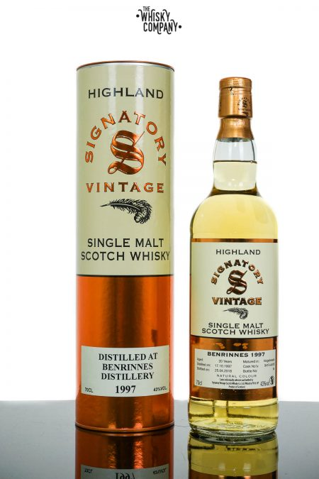 Benrinnes 1997 Aged 20 Years Single Malt Scotch Whisky - Signatory Vintage (700ml)