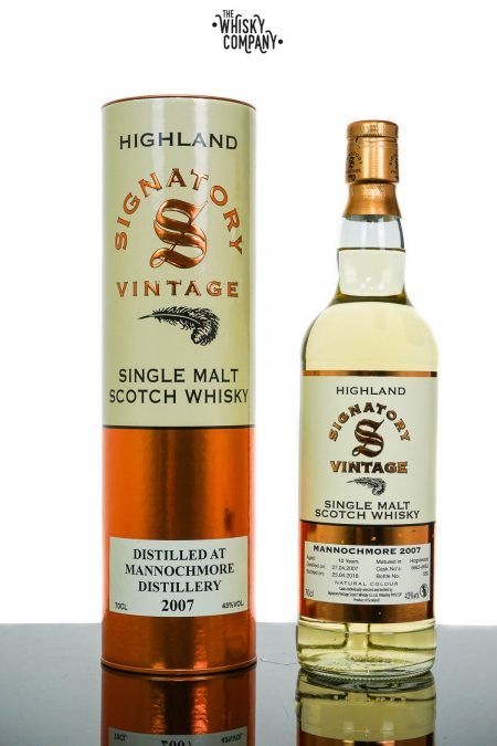 Mannochmore 2007 Aged 10 Years - Signatory Vintage (700ml)