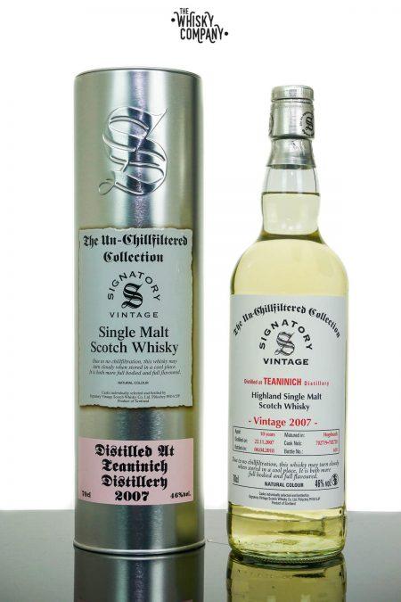 Teaninich 2007 Aged 10 Years Single Malt Scotch Whisky - Signatory Vintage (700ml)