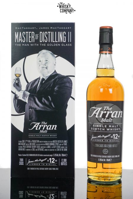 Arran Master Of Distilling II The Man With The Golden Glass Single Malt Scotch Whisky (700ml)
