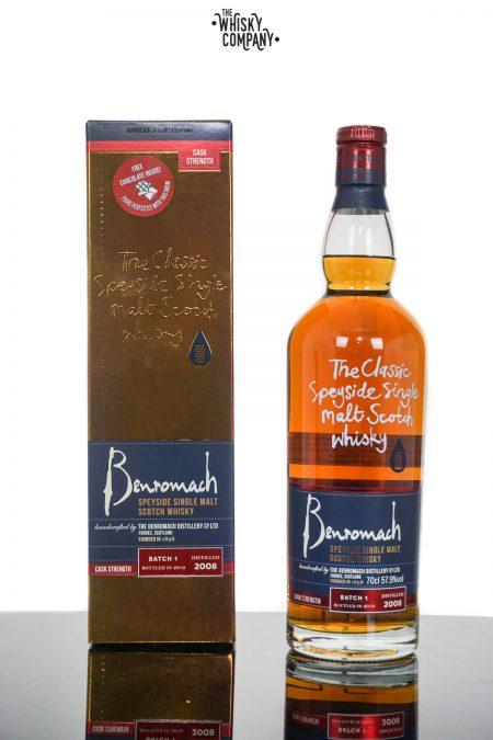 2008 Benromach Cask Strength Batch 1 Speyside Single Malt Scotch Whisky (700ml)