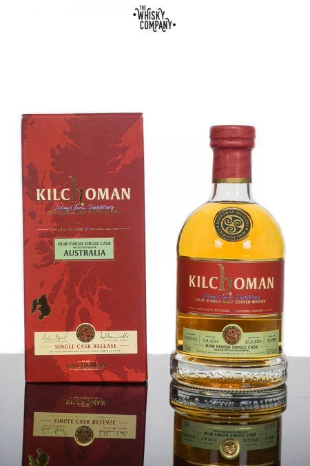 Kilchoman Rum Cask Finish Single Cask Australian Exclusive Single Malt Scotch Whisky (700ml)