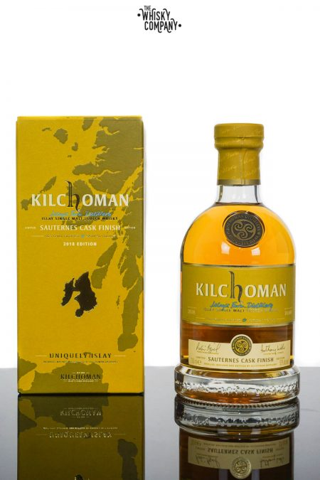 Kilchoman 2018 Sauternes Cask Finished Islay Single Malt Scotch Whisky (700ml)