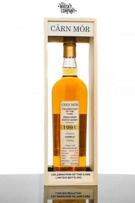 Cambus 1991 Aged 27 Years Single Malt Scotch Whisky - Càrn Mòr Celebration of The Cask (700ml)