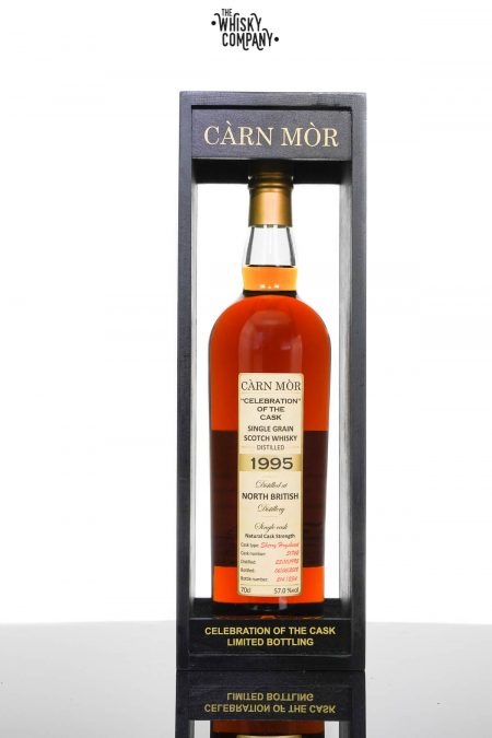North British 1995 Aged 22 Years 'Celebration of the Cask' Single Grain Scotch Whisky - Carn Mor (700ml)