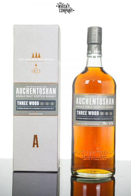 Auchentoshan Three Wood Single Malt Scotch Whisky (700ml)