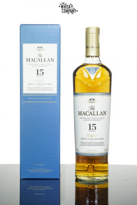 The Macallan Triple Cask 15 Years Old Single Malt Scotch Whisky (700ml)