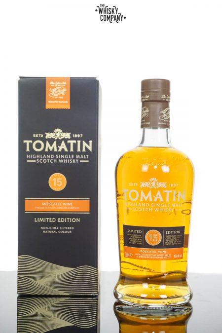 Tomatin 15 Years Old Moscatel Finish Highland Single Malt Scotch Whisky (700ml)
