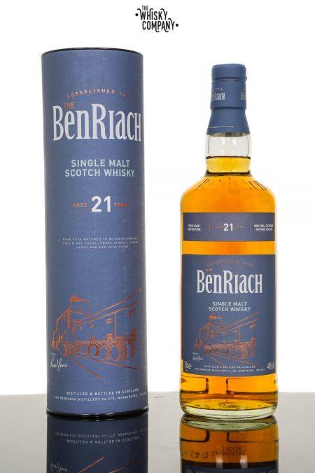 BenRiach Aged 21 YearsSpeyside Single Malt Scotch Whisky (700ml)