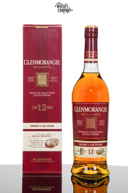 Glenmorangie Lasanta Aged 12 Years Highland Single Malt Scotch Whisky (700ml)