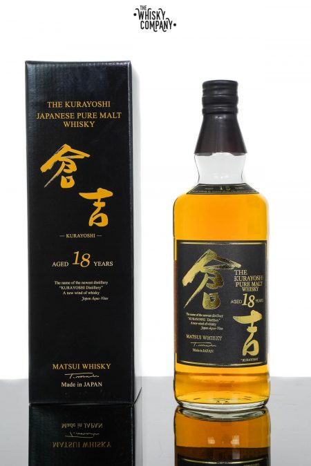 The Kurayoshi 18 Years Old Pure Malt Japanese Whisky (700ml)