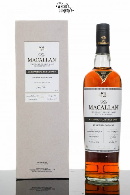The Macallan Exceptional Single Cask 2018/ASB-3890/09 Single Malt Scotch Whisky (700ml)