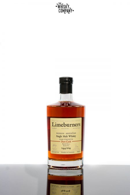 Limeburners Port Cask Cask Strength M200 Western Australian Single Malt Whisky (700ml)