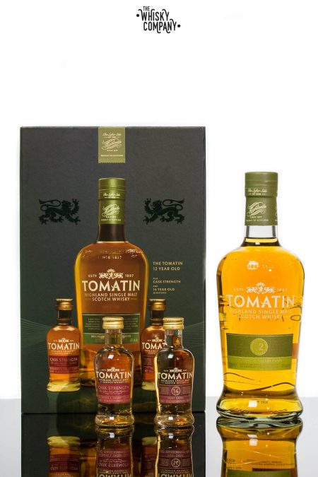 Tomatin 12 Years Old Gift Pack Highland Single Malt Scotch Whisky