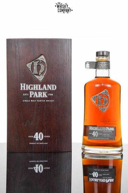 Highland Park 40 Years Old Single Malt Scotch Whisky (700ml)