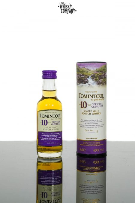 Tomintoul Aged 10 Years Speyside Single Malt Scotch Whisky (50ml)
