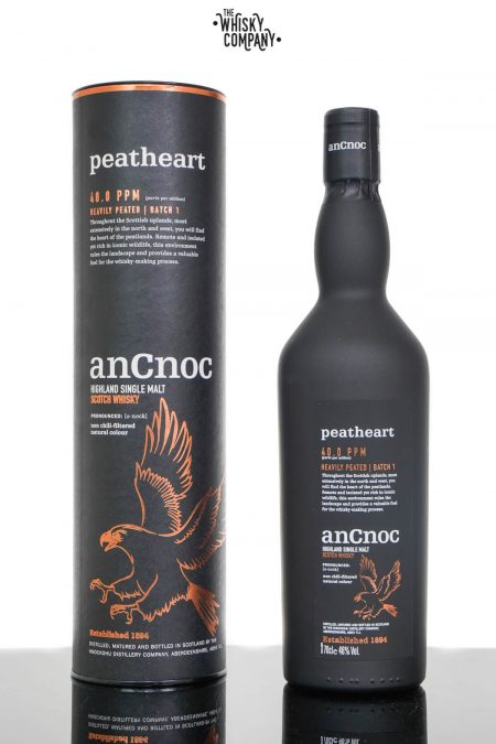 anCnoc Peatheart Speyside Single Malt Scotch Whisky (700ml)