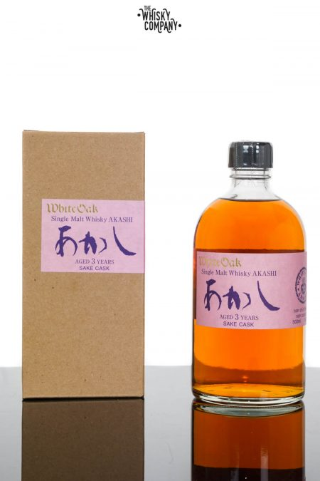 Akashi White Oak Aged 3 Years Japanese Blended Whisky (500ml)
