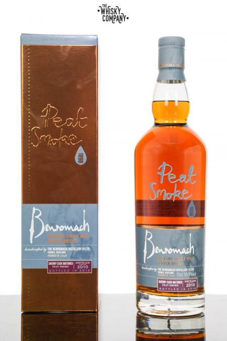 Benromach 2010 Peat Smoke Sherry Matured Single Malt Scotch Whisky (700ml)