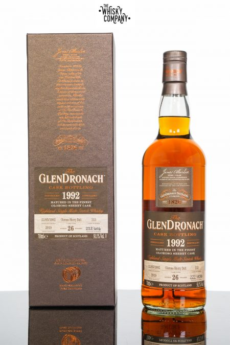 GlenDronach 1992 Aged 26 Years Single Malt Scotch Whisky - Cask 113 (700ml)