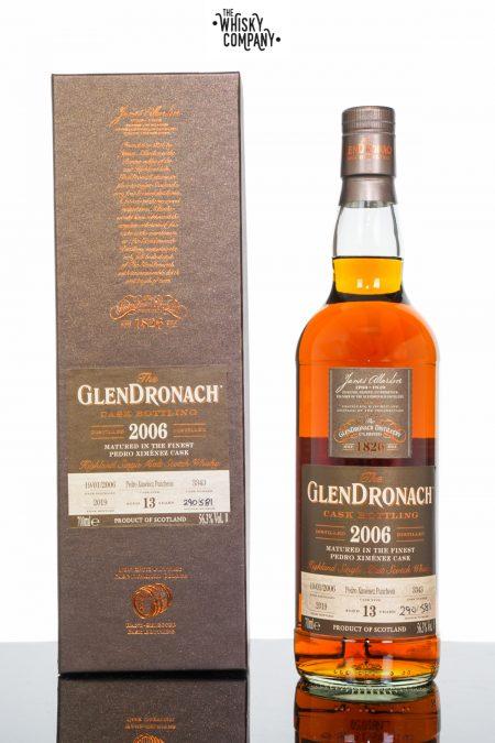 GlenDronach 2006 Aged 13 Years Single Malt Scotch Whisky - Cask 3343 (700ml)