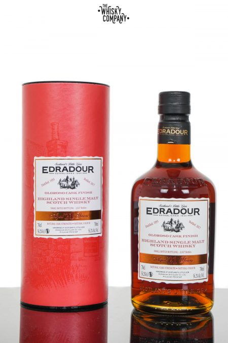 Edradour 1995 Aged 21 Years Oloroso Sherry Finish Highland Single Malt Scotch Whisky (700ml)
