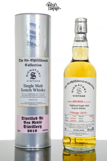 Ben Nevis 2010 Aged 9 Years UCF Single Malt Scotch Whisky - Signatory Vintage (700ml)