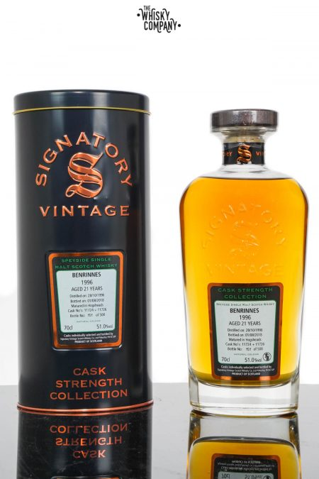 Benrinnes 1996 Aged 21 Years Speyside Single Malt Scotch Whisky - Signatory Vintage (700ml)