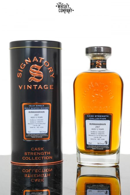 Bunnahabhain 2007 Aged 12 Years Single Malt Scotch Whisky - Signatory Vintage (700ml)