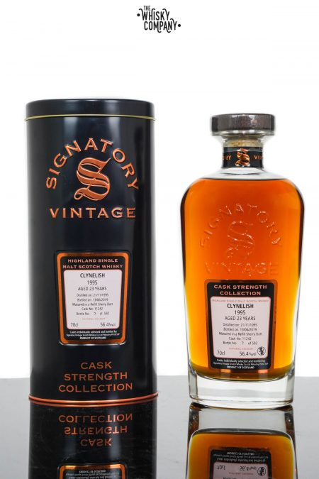 Clynelish 1995 Aged 23 Years Single Malt Scotch Whisky - Signatory Vintage (700ml)