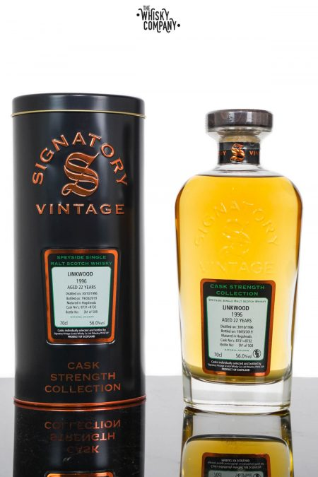 Linkwood 1996 Aged 22 Years Speyside Single Malt Scotch Whisky - Signatory Vintage (700ml)