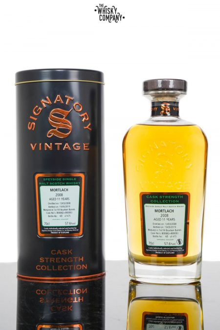 Mortlach 2008 Aged 11 Years Highland Single Malt Scotch Whisky - Signatory Vintage (700ml)