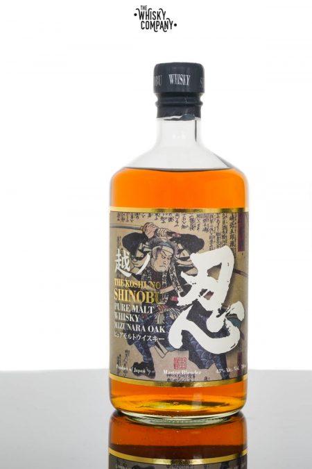 The Koshi-No Shinobu Pure Malt Japanese Whisky - Mizunara Oak (700ml)