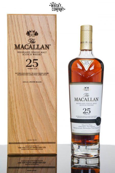 The Macallan 25 Years Old Sherry Oak 2019 Release Single Malt Scotch Whisky (700ml)