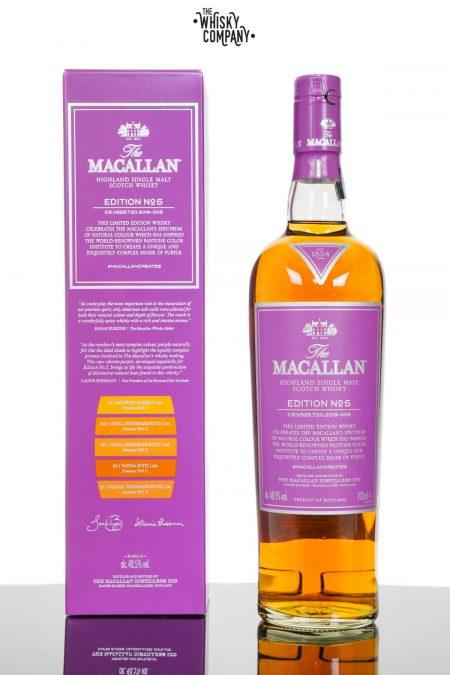 The Macallan Edition 5 Highland Single Malt Scotch Whisky (700ml)