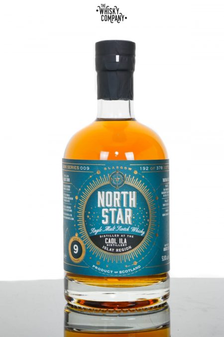 Caol Ila 2009 Aged 9 Years Islay Single Malt Scotch Whisky - North Star (700ml)
