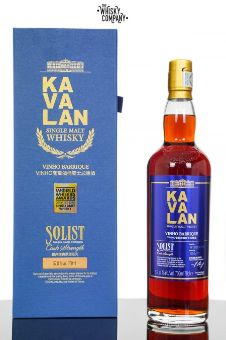 Kavalan Solist Vinho Barrique Taiwanese Single Malt Whisky (700ml)