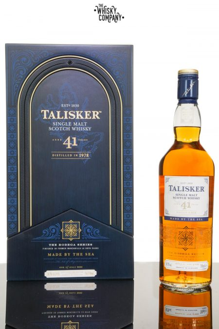 Talisker 1978 Aged 41 Years Single Malt Scotch Whisky - Bodega Series 2 (700ml)