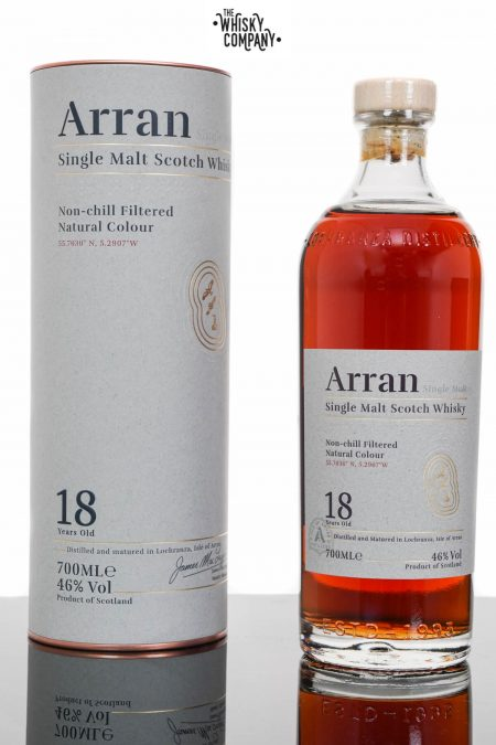 Arran 18 Years Old Island Single Malt Scotch Whisky (700ml)