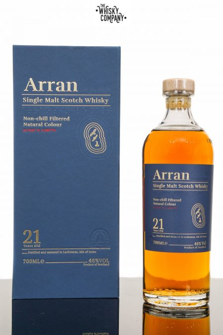 Arran 21 Years Old Island Single Malt Scotch Whisky (700ml)