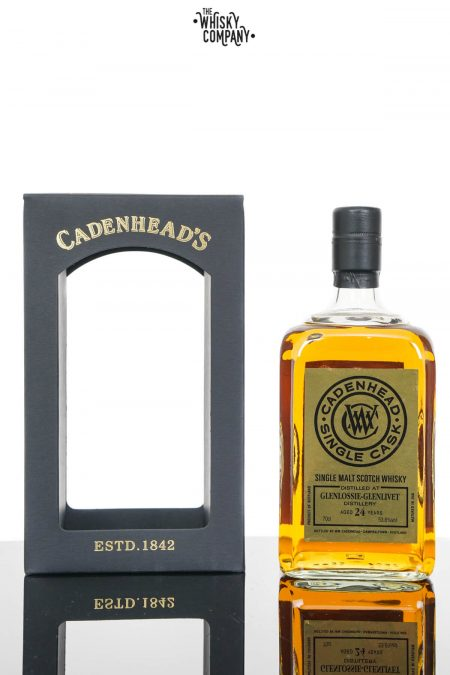 Glenlossie 1993 24 Years Old Single Cask Scotch Whisky - Cadenhead (700ml)