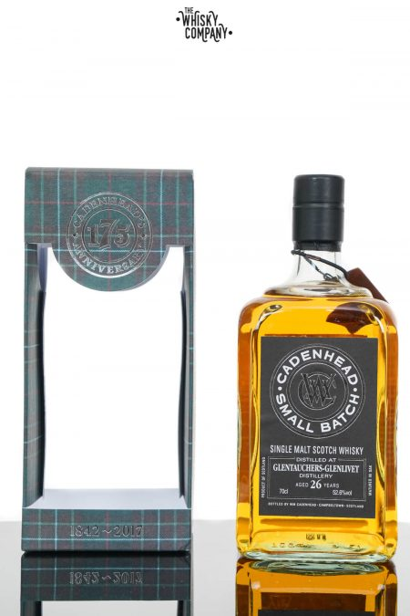 Glentauchers 1990 Aged 26 Years Single Malt Scotch Whisky - Cadenhead (700ml)