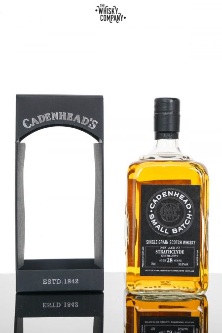Strathclyde 1989 Aged 28 Years Single Grain Scotch Whisky - Cadenhead (700ml)