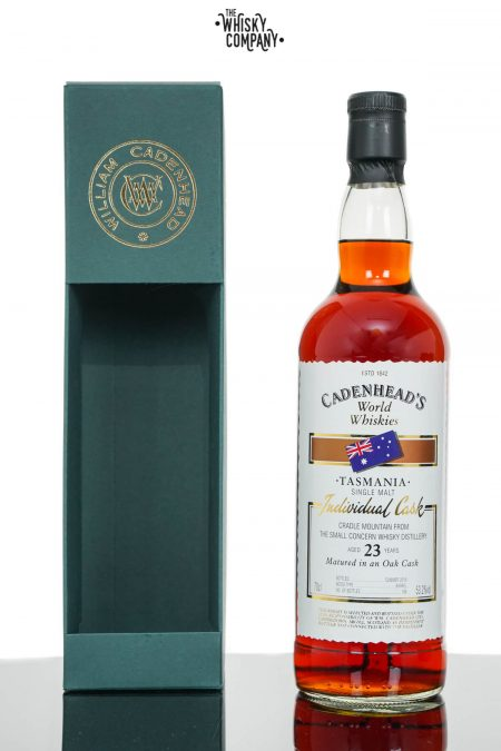 Cradle Mountain 1996 23 Years Old Single Cask Whisky - Cadenhead (700ml)