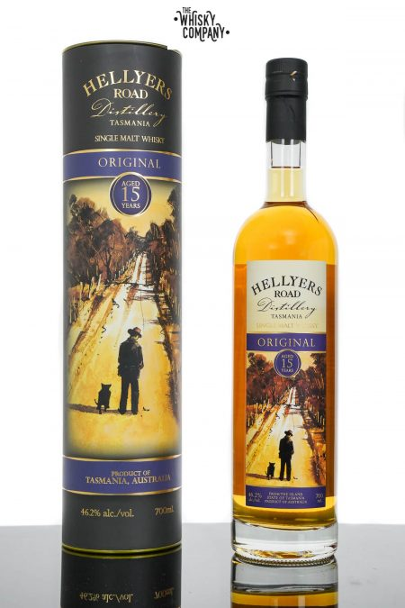 Hellyers Road Original 15 Years Old Australian Single Malt Whisky (700ml)