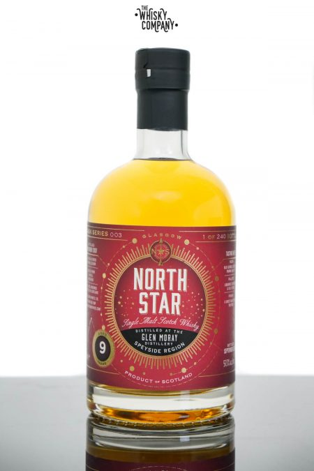 Glen Moray 2007 Aged 9 Years Speyside Single Malt Scotch Whisky - North Star (700ml)