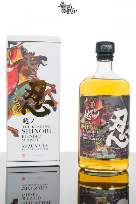 The Koshi-No Shinobu Blended Japanese Whisky - Mizunara Oak (700ml)