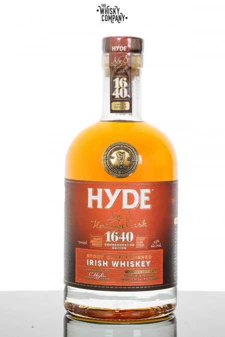 Hyde No. 8 Heritage Cask Stout Cask Finish Irish Whiskey (700ml)