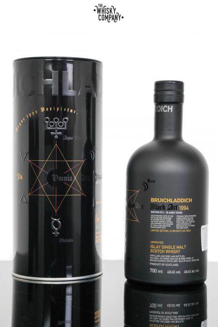Bruichladdich 1994 Black Art Edition 7.1 Aged 25 Years Single Malt Scotch Whisky (700ml)