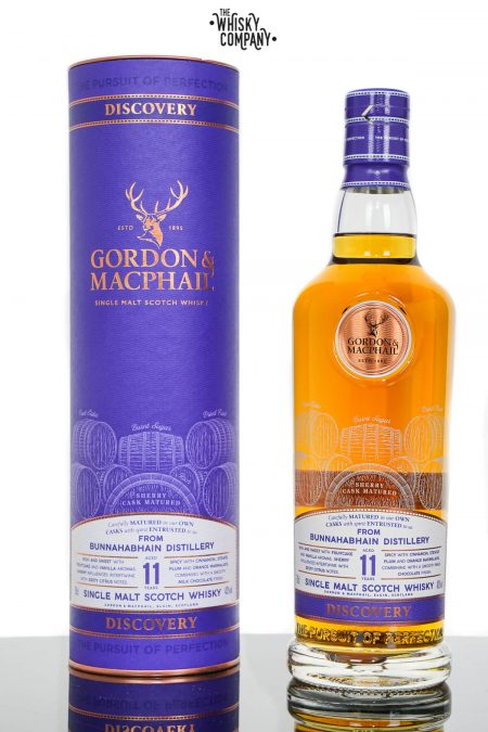 Bunnahabhain Aged 11 Years Discovery Single Malt Scotch Whisky - Gordon & MacPhail (700ml)
